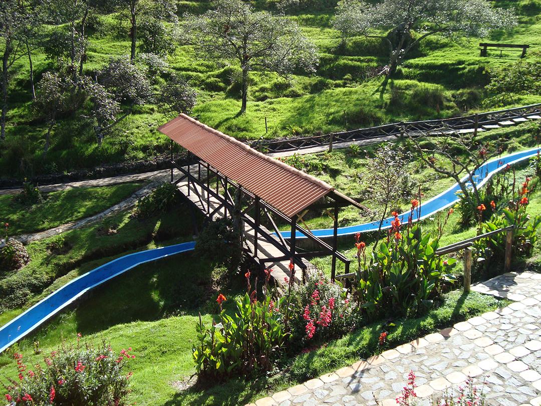 Puente tobogan